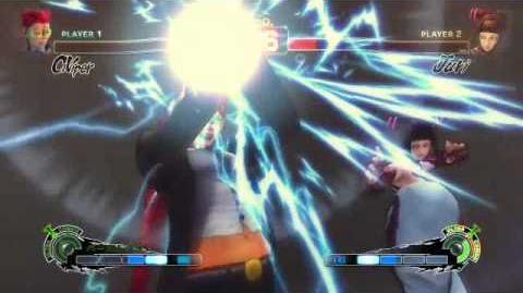 Super Street Fighter 4 - Crimson Viper Ultra 1 Burst Time