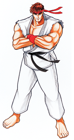 File:Ryu (SF2).png