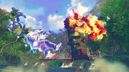 Thunder Knuckle-Shoryuken collision