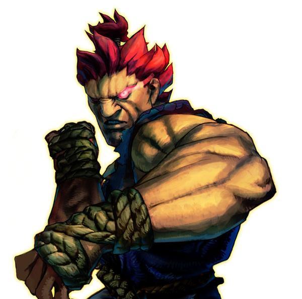 Resultado de imagem para akuma street fighter