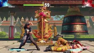 STREET FIGHTER V Temple Hideout Showcase Professional Chun-Li