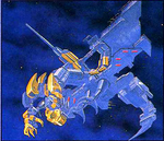Blue dragon art
