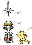 Arc stickerart items