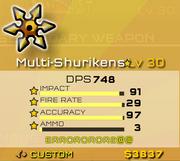 Multi Shurikens