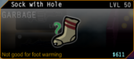 SFH2 Sock with Hole
