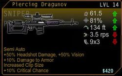 Piercing Dragunov