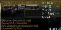 EX 41 Grenade Launcher
