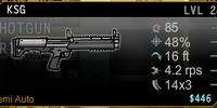 KSG Shotgun