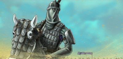 Sassanid knight