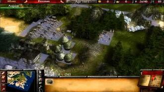 Lets Play Stronghold2 Peace campaign 1 lazy man's edition