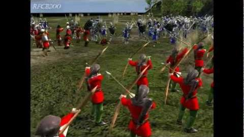 Stronghold 2 campaign The battle of Aljubarrota part 1 Hope.
