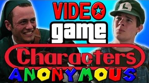 TSVGS - Video Game Characters Anonymous - That Stupid Video Game Show