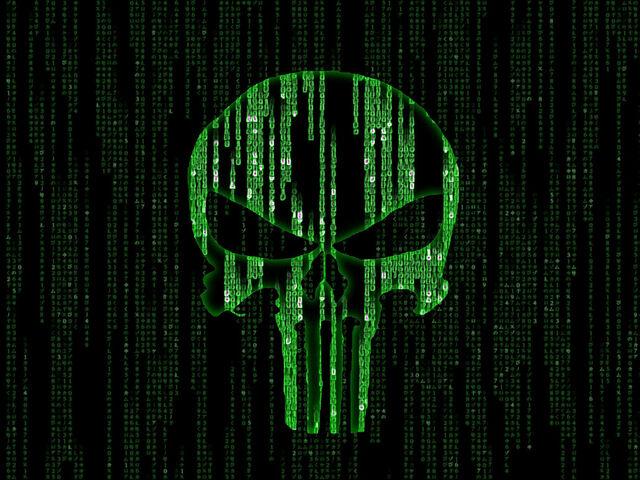 File:Matrix meets Punisher by kmfdmk.jpg