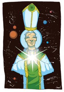 Space pope by slackin jimmy