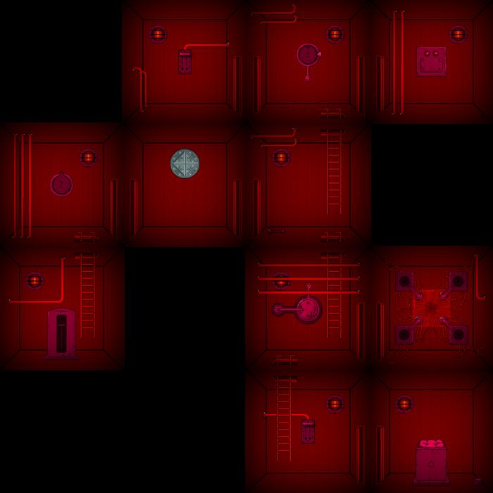 Infernal basement map