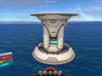 Nuclear reactor in game