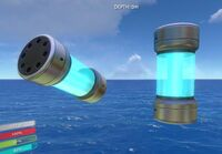 Nuclear Reactor rod in game
