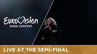 Greta Salóme - Hear Them Calling (Iceland) Live at Semi - Final 1 at Eurovision 2016