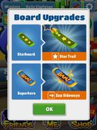 BoardUpgradesStarboard&Superhero