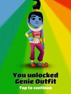 Unlocking Genie Outfit