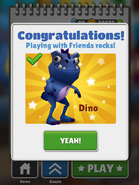 Playing with Friends - Dino