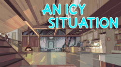 An Icy Situation title card