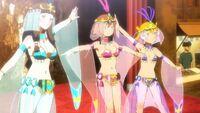 Girls dancers