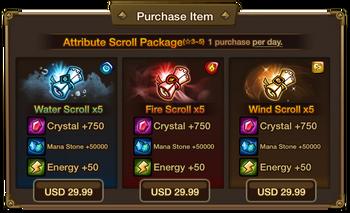 Attribute Scroll Package