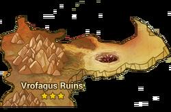 Vrofagus Ruins Map