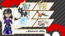 Jasper's Pokemon Team