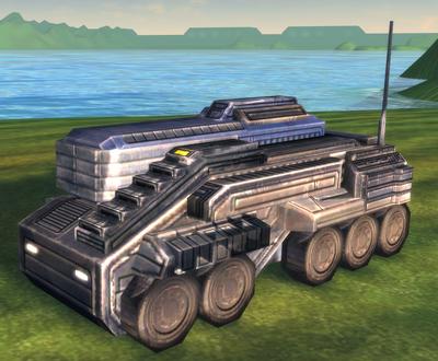 T2 mobile missle launcher