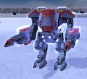 UEF Heavy Assault Bot