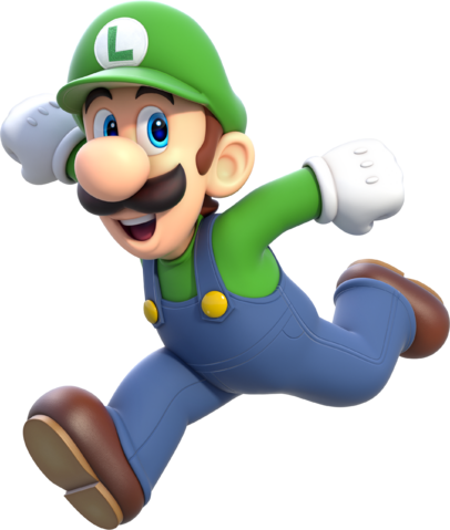 File:Luigi Artwork - Super Mario 3D World.png