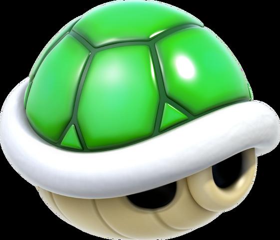 File:Green Shell Artwork - Super Mario 3D World.png