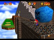 Super Mario 64 Whomps Fortress Thwomp