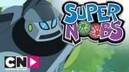 Supernoobs Giant Robot Fight Cartoon Network