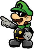 Mr. L Artwork (Super Paper Mario)