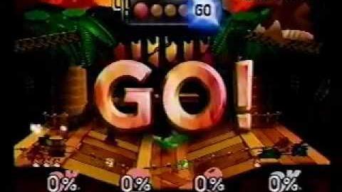 Super Smash Bros as Donkey Kong Speed Run