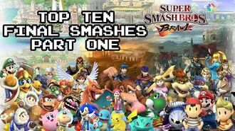 Top Ten Final Smashes Part 1 - Brawl - The Completionist