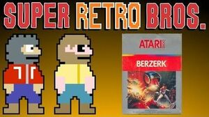 BERZERK (ATARI 2600) - Super Retro Bros