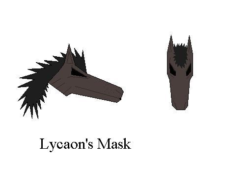 Lycaon's Mask