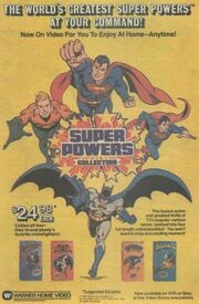 Super Powers Collection Video Ad