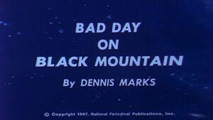 Bad Day on Black Mountain