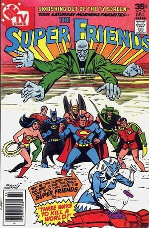 Super-friends 9 (cover)