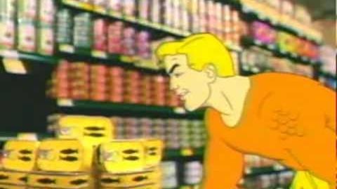 Aquaman at the Supermarket