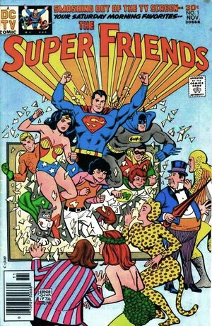Super Friends issue 1