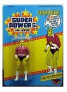 Brainiac (Super Powers figure industrial toy werks)