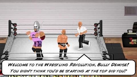 Demo Friend - Wrestling Revolution (Ouya)