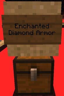 Enchanted Diamond Armor