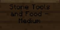 Stone Tools and Food - Medium